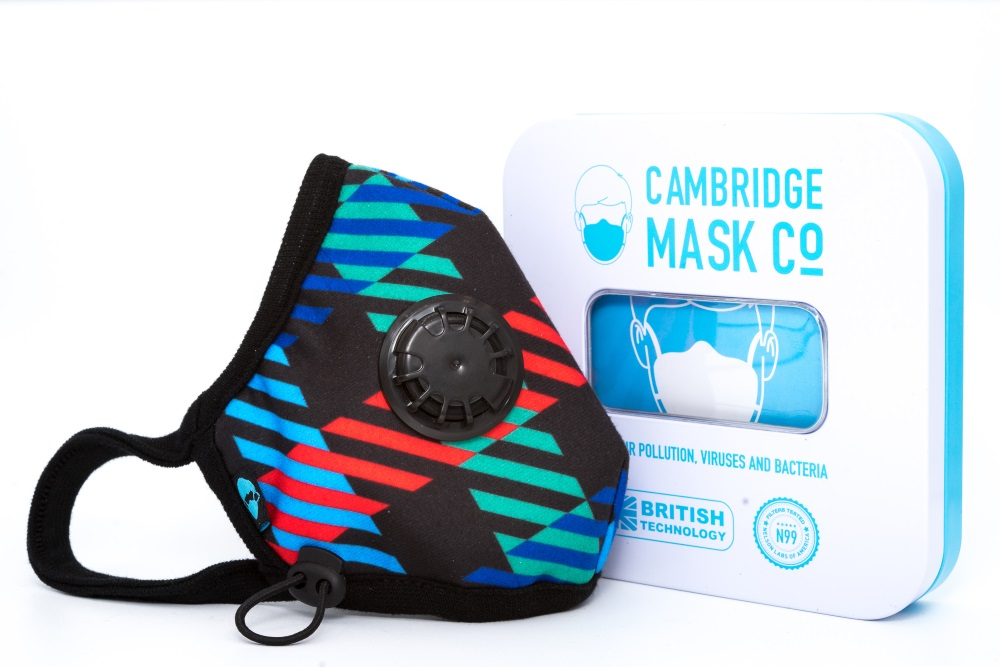 Maska Antysmogowa Cambridge. Newton