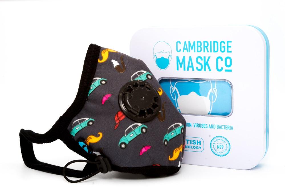 Maska Antysmogowa Cambridge - Sherlock