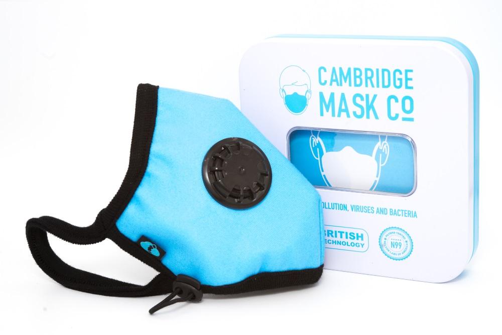 Maska Antysmogowa Cambridge - Prawdziwe Cambridge