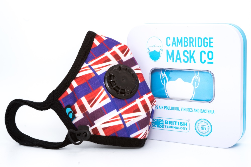 Maska Antysmogowa Cambridge - Jack