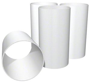 białe filtry sleeve