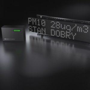 miernik z monitorem