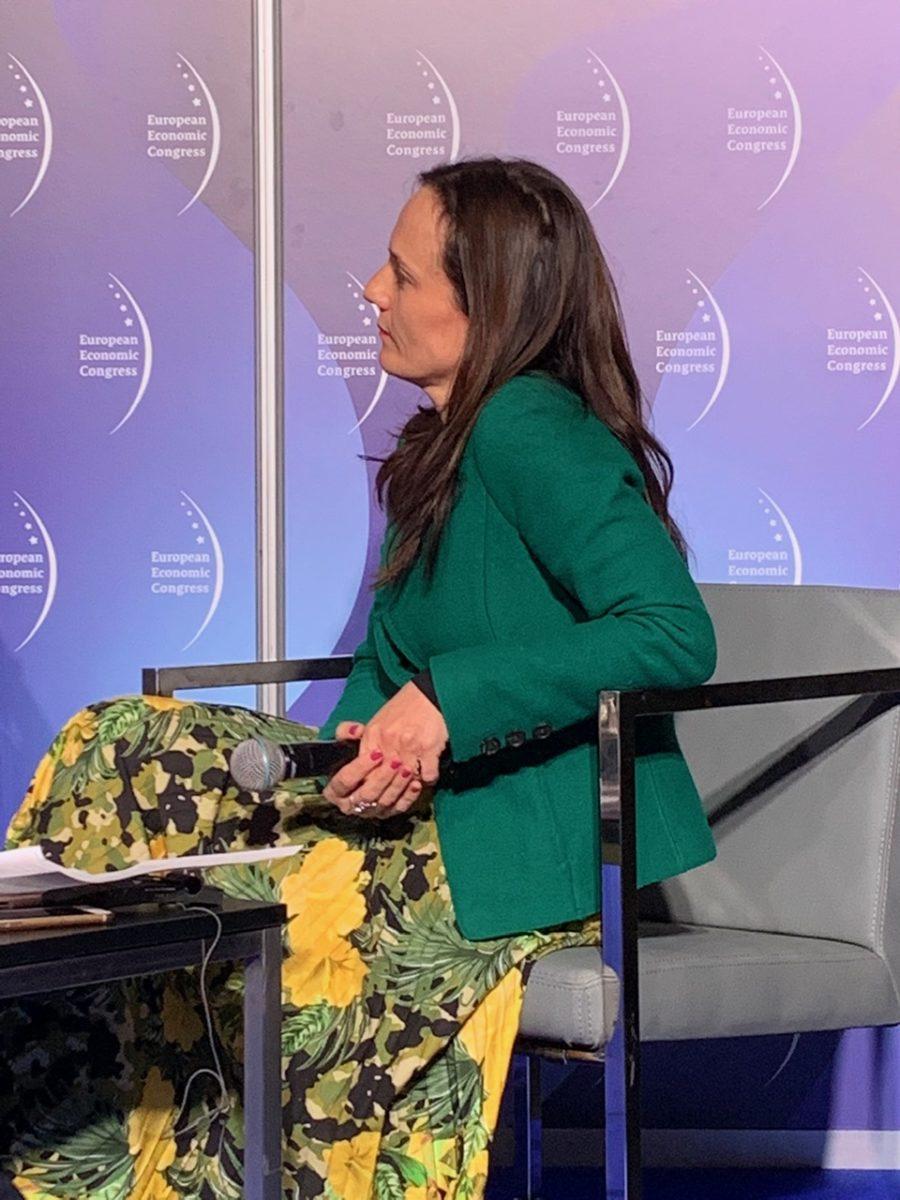 Agnieszka Liszka-Dobrowolska, panel Wciąż ten Smog, Europejski Kongres Gospodarczy 2019