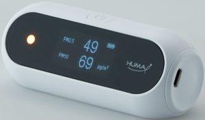 Sensor jakości powietrza Huma-i Bialy