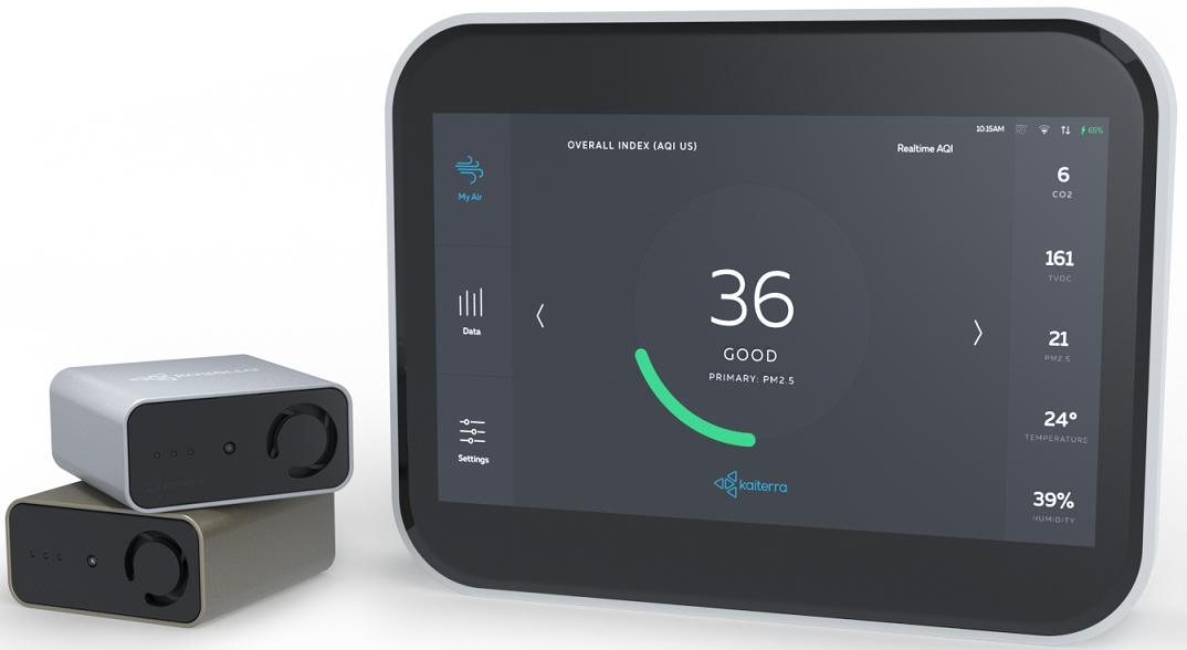 Miernik jakości powietrza - Kaiterra Sensedge