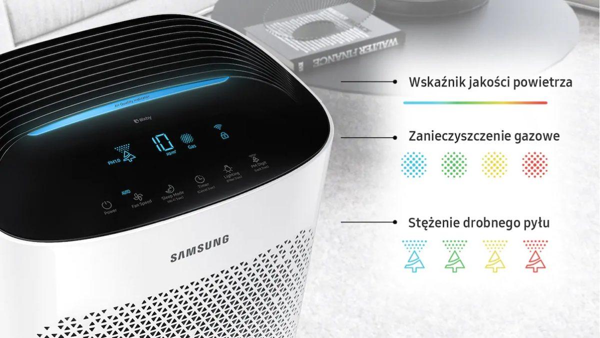 Oczyszczacz powietrza Samsung (do 60 m2)