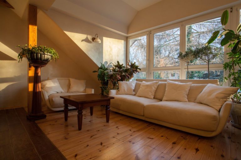 Cloudy home - bright couch