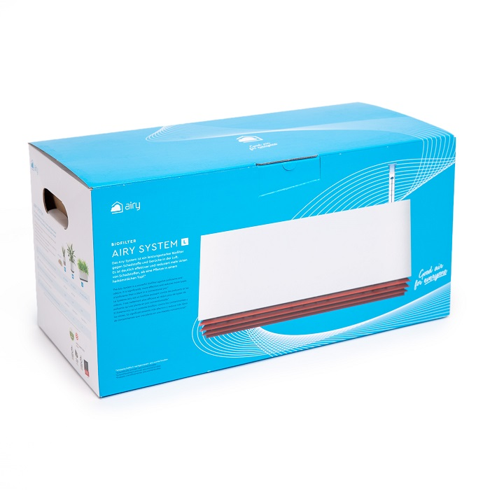 Biofiltr Airy - Doniczka Oczyszczająca (L)