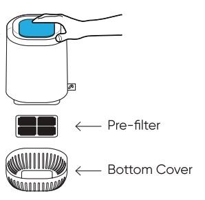 Oczyszczacz powietrza Aura Air Mini (do 10m2)